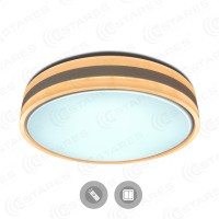 Управляемый светодиодный светильник BALANCE DOUBLE 95W R-500-WHITE/SILVER-220-IP44