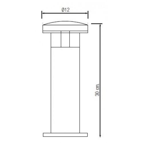Садово-парковый светодиодный светильник HL213L