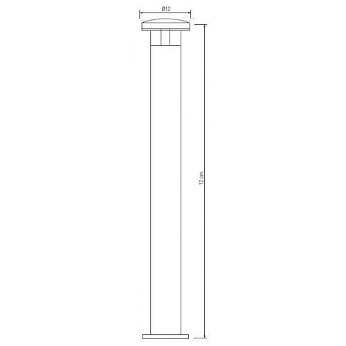 Садово-парковый светодиодный светильник HL215L