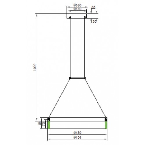 Светодиодная люстра HL860