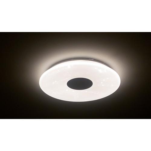 Управляемый светодиодный светильник a-play 60W RGB R-530-SHINY-220V-IP20 со встроенной колонкой