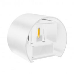 Светильник светодиодный архитектурный настенный двухлучевой MS-G1-501 6W  R-WW-WHITE-IP65