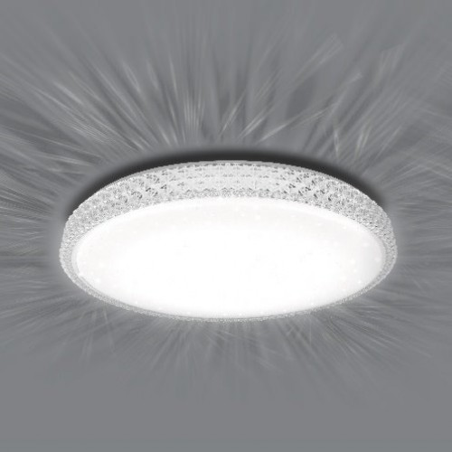 Управляемый светодиодный светильник PLUTON 40W R-400-SHINY-220-IP44