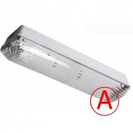 Аварийный накладной светильник LC-NSIP-20W IP65 с БАП 1 час Прозрачный