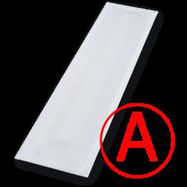 Аварийный светодиодный светильник Айсберг Призма,12 Вт