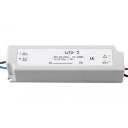 Блок питания LC-WP-60W-24V/12V PL IP65 2.5 A /5 A