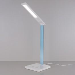 Настольный светодиодный светильник Lori белый/голубой TL90510 WT/BLU