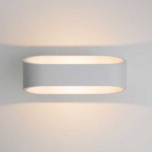 POINT белый уличный настенный светодиодный светильник 1706 TECHNO LED