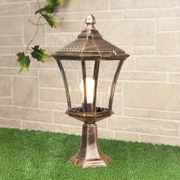 Ландшафтный светильник Elektrostandard Virgo S черное золото GLXT-1450S