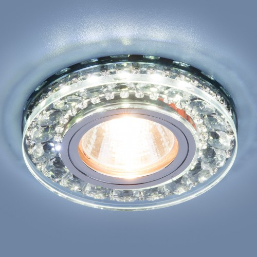 Точечный светодиодный светильник Elektrostandard 2192 MR16 SBK дымчатый
