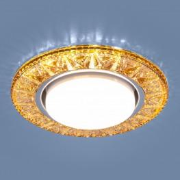 Точечный светодиодный светильник Elektrostandard 3022 GX53 GD золото