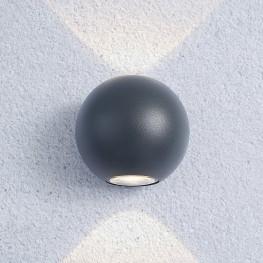Настенный светильник Elektrostandard 1566 Techno LED Diver серый
