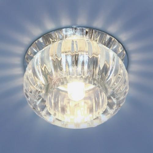 Точечный светильник со стеклом Elektrostandard 1100 G9 CL прозрачный