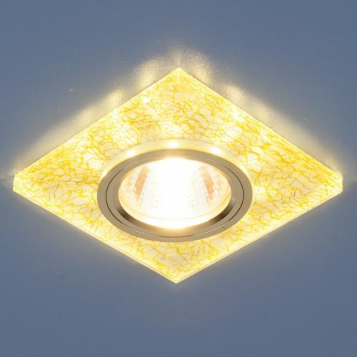 Точечный светильник светодиодный Elektrostandard 8361 MR16WH/GD белый/золото