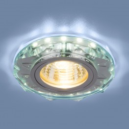 Точечный светодиодный светильник Elektrostandard 8356 MR16 CL/WH прозрачный/белый