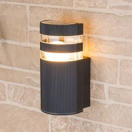 Настенный уличный светильник Elektrostandard Techno 1444 черный