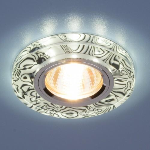 Точечный светильник светодиодный Elektrostandard 8371 MR16 WH/BK белый/черный