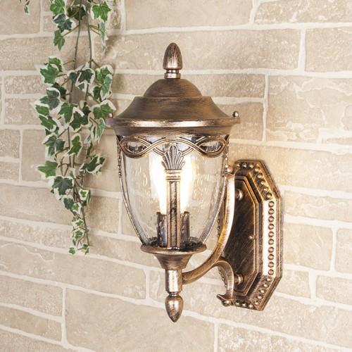 Настенный светильник Elektrostandard Mensa U черное золото