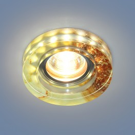 Точечный светильник со светодиодами Elektrostandard 2190 MR16 YL желто-терракотовый