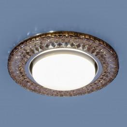 Точечный светодиодный светильник Elektrostandard 3021 GX53 GC тонированный