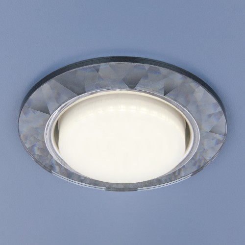 Встраиваемый точечный светильник Elektrostandard 1061 GX53 Grey серый