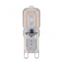 Лампа светодиодная Elektrostandard G9 LED 3W 220V 3300K