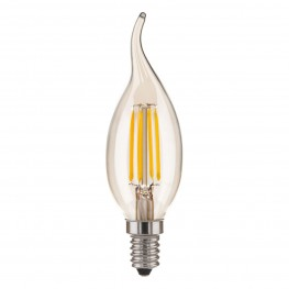 Лампа светодиодная Elektrostandard Свеча на ветру BL120 6W 4200K E14