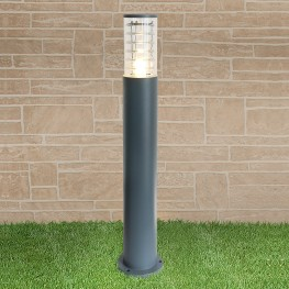 Светильник на столбе Elektrostandard 1507 TECHNO silver серый