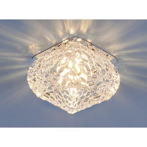 Точечный светильник Elektrostandard 8506 G9 CH/CL хром/прозрачный