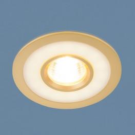Точечный светильник светодиодный Elektrostandard 1052 MR16 GD золото