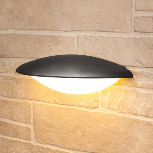 Настенный уличный светильник Elektrostandard Techno 1013 черный