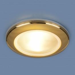 Влагозащищенный точечный светильник Elektrostandard 1080 MR16 GD золото