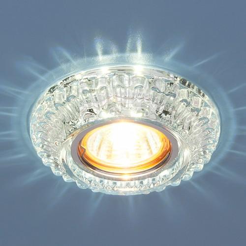 Точечный светильник со светодиодами Elektrostandard 7247 MR16 CL прозрачный