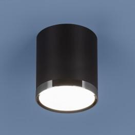 Накладной точечный светильник Elektrostandard DLR024 6W 4200K черный матовый