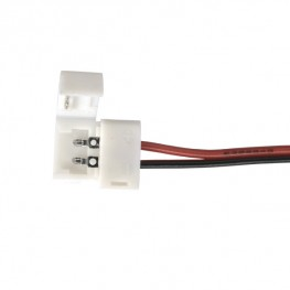 Коннектор для одноцветной светодиодной ленты 3528 гибкий односторонний