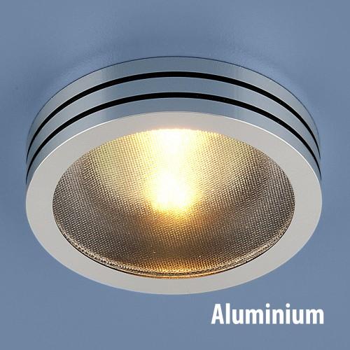Точечный светильник из алюминия Elektrostandard 5153 MR16 CH/BK хром/черный