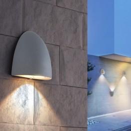 Настенный светильник Elektrostandard 1610 Techno LED Rongo алмазный серый