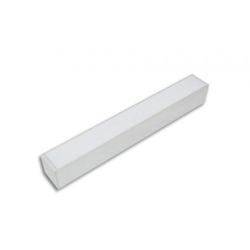 Линейный профильный светодиодный светильник LC-LP-5050 40W Опал (1135 мм)