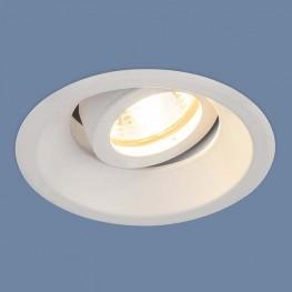 Встраиваемый алюминиевый точечный светильник 6068 MR16 WH белый