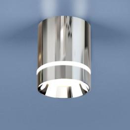 Накладной точечный светильник Elektrostandard DLR021 9W 4200K хром