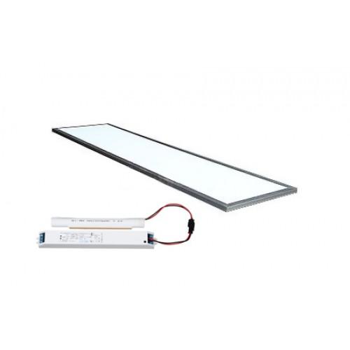 Светодиодная панель LC-PN-12030-38W  цвет канта Алюминий