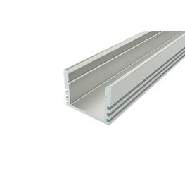 Профиль накладной алюминиевый LC-LP-0716-2 Anod