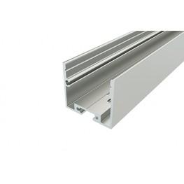 Профиль накладной алюминиевый LC-LP-2528-2 Anod