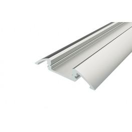 Профиль алюминиевый для порогов LC-LPP-0636-2 Anod