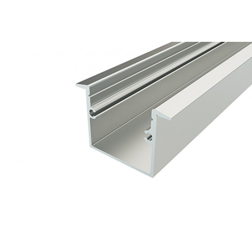 Профиль врезной алюминиевый LC-LPV-2537-2 Anod