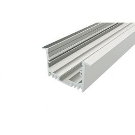Профиль врезной алюминиевый LC-LPV-2544-2 Anod