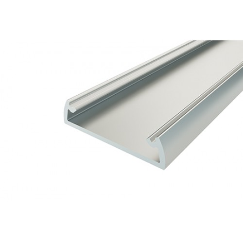 Профиль накладной алюминиевый LC-LP-0624-2 Anod