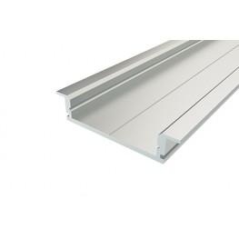 Профиль врезной алюминиевый LC-LPV-0734-2 Anod