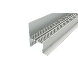 Профиль накладной алюминиевый LC-NKU-7664-2 Anod
