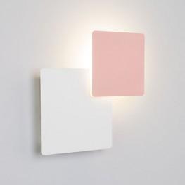 Настенный светодиодный светильник 40136/1 Белый/розовый
